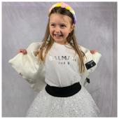 Look Balmain #minime per una cerimonia alternativa Disponibile in boutique #ilmarmocchioshop e #online - #kidswear #ss21 #balmain