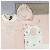Coordinato nascita femminuccia @littlebearit 🐻🎀 disponibile in boutique #ilmarmocchioshop e #online - #newborn #ss21