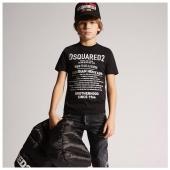 La storia di @dsquared2 sulla t-shirt #FW20 Disponibile la nuova collezione in boutique #ilmarmocchioshop e #online - #kidswear #dsquared2 #newcollection