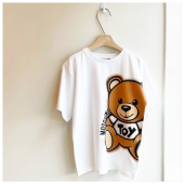 Iconic Teddy #moschino In boutique #ilmarmocchioshop e #online - #kidswear #ss21