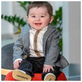 Loook cerimonia @burberry Disponibile in boutique #ilmarmocchioshop e #online - #littlecustomer