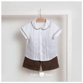 Tessuti e colori naturali: look #litterbear perfetto per qualsiasi occasione Disponibile in boutique #ilmarmocchioshop e #online - #linenmood #ss21
