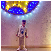 #littlecustomer Francesco in total look #ilmarmocchioshop - #kidswear
