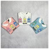 Quale colore preferisci? #moschinobaby 🐻 Nuova collezione #newborn disponibile in boutique #ilmarmocchioshop e #online - #newcollection #ss21