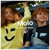 Oggi vi presentiamo MOLO, un brand eco sostenibile in un solo grande spirito di positività… una collezione fatta di colori accesi e fantasie divertenti ♻️ #ilmarmocchioshop #fashionsustainable #molo #ecobrand