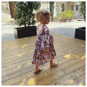 #littlecustomer Matilde in @molo ♻️ - #ilmarmocchioshop #kidswear