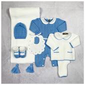 It's a boy 💙 Nuova collezione corredino #littlebear 🐻 disponibile in boutique #ilmarmocchioshop e #online - #newborn #ss21 #newcollection