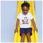 Ci divertiamo? Completo @moschino disponibile in boutique #ilmarmocchioshop e #online - #kidswear