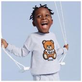 Enjoy your smile! Collezione @moschino 🐻disponibile in boutique #ilmarmocchioshop e #online - #kidswear