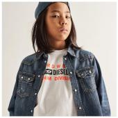 Collezione @diesel.kid disponibile in boutique #ilmarmocchioshop e #online - #onlythebrave - #kidswea#ss21